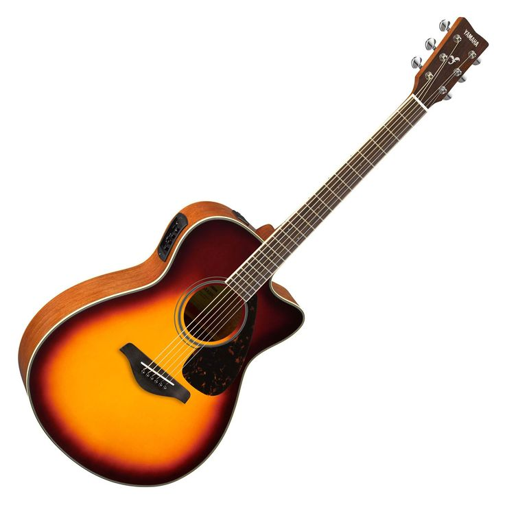 yamaha fsx820c small body acoustic electric guitar brown sunburst products guitar. Black Bedroom Furniture Sets. Home Design Ideas