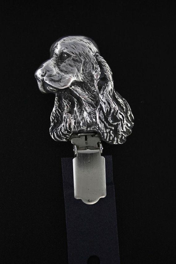 English Cocker Spaniel dog clipring dog show by ArtDogshopcenter