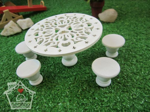 Inspiration: Summer Solstace Table Set by LittleSupisCottage on Etsy