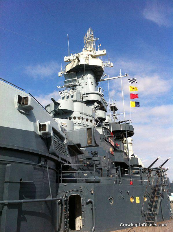 Battleship USS North Carolina, Wilmington