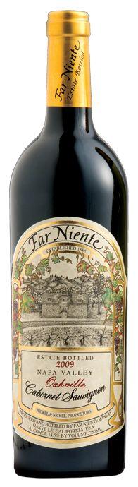 Far Niente Winery   Napa Valley Cabernet Sauvignon  - Still one of my favorites