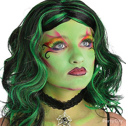 vampire witch makeup for little girls