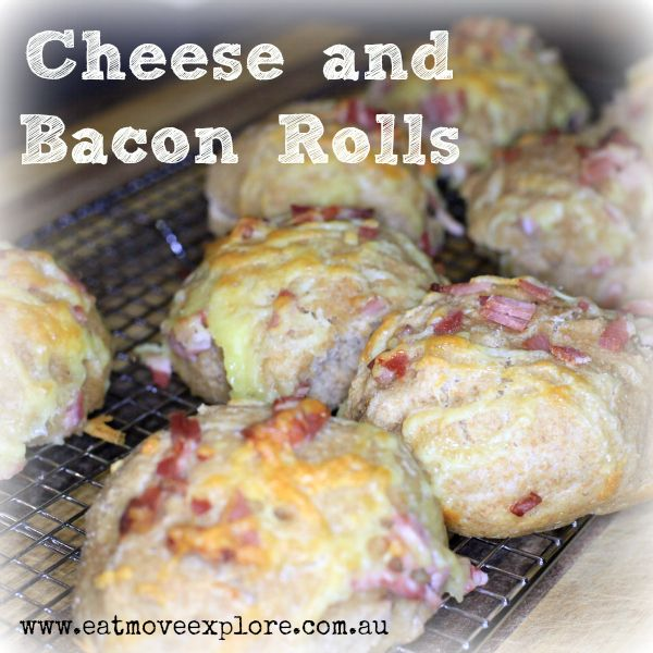 Cheese and bacon rolls - A winner in the lunchbox, every single time.