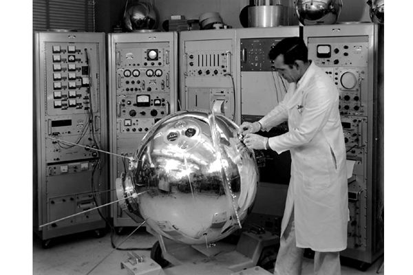 Space History Photo: Explorer XVII Satellite CREDIT: NASA