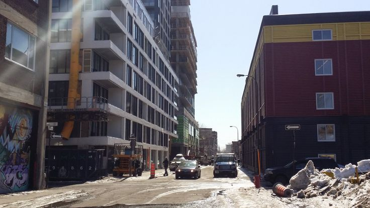 Streets in Griffintown