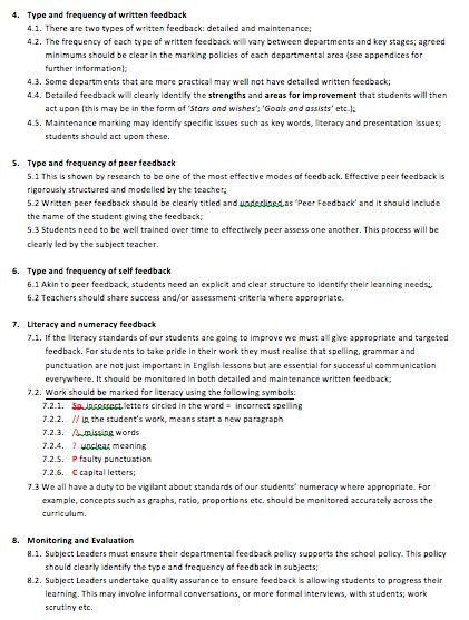 Best Effective Feedback Images On   Assessment