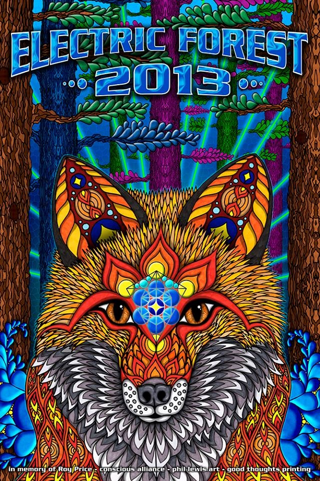 ELECTRIC FOREST 2013 - 3 mo'effin days! :)