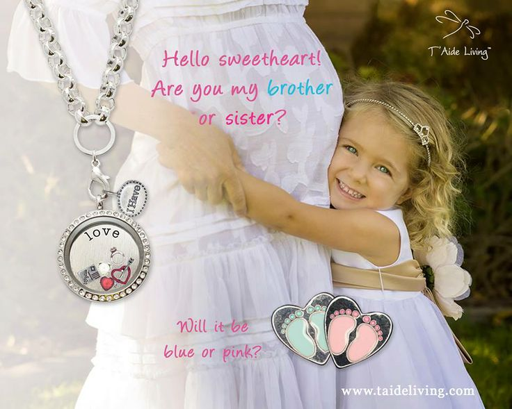 Celebrate the new life with T'Aide Living Locket!