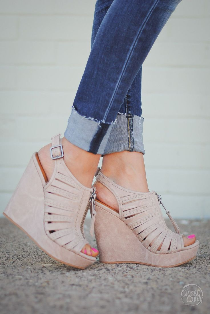 Best 25+ Cute wedges shoes ideas on Pinterest | Wedge ...