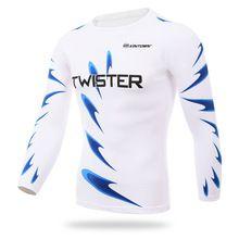 PLUSLAND TWISTER Cycling Shirt Long Sleeve Clothing Men Outdoor UV Shirt Fishing Hiking T-Shirt Running Bicycle Long Clothes
