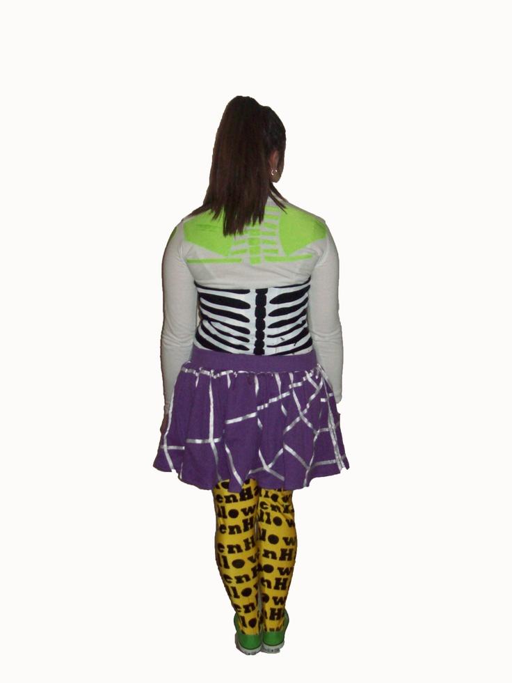 My textiles halloween costume