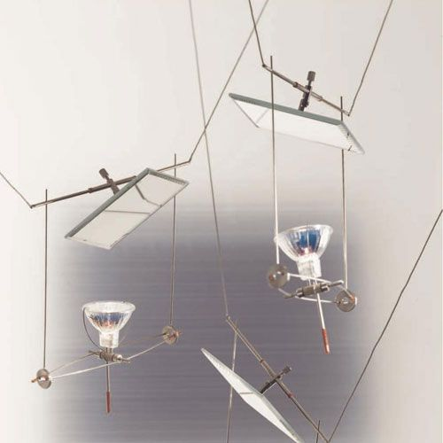 The YaYaHo Cable Light System by Ingo Maurer