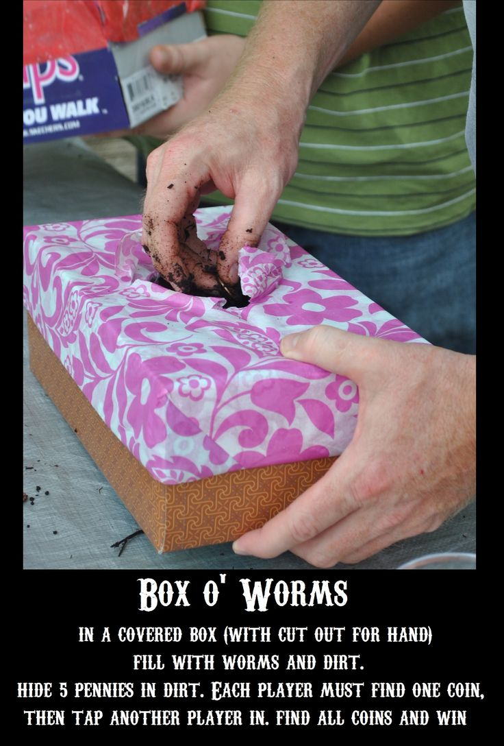 Family fear factor - Box o Worms  by LSS and CC  @Courtenay Crocombe