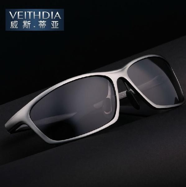 FuzWeb VEITHDIA Famous 6520 Alloy Frame Polarized Sunglasses Men s Driver Sunglass  Mirror Driving Glasses Goggles   SUNGLASSES   Pinterest   Polarized ... f38e750000