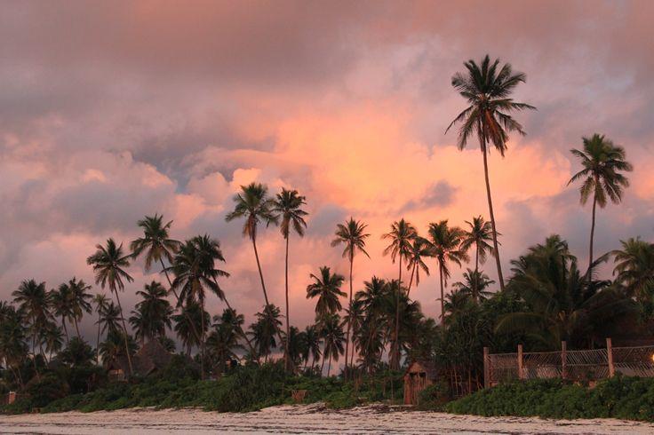 Sunrise on Matemwe Beach.