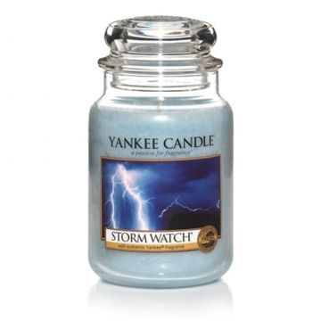 storm watch@Kristin Holt.  Love the name of this candle.