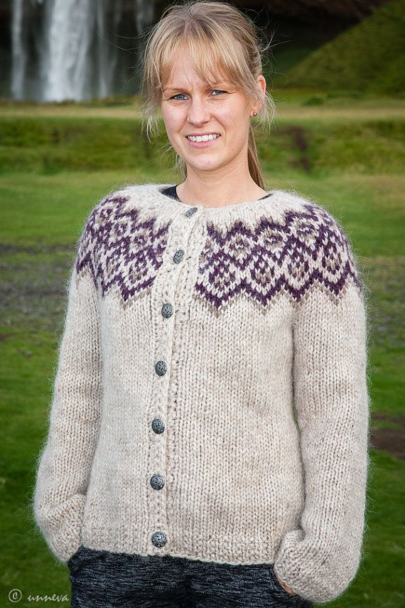 Icelandic Lopi Cardigan by unneva on Etsy