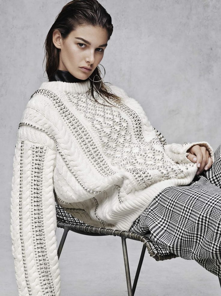 a new attitude: ophelie guillermand by jason kibbler for the edit by net-a-porter 8th october 2015 | visual optimism; fashion editorials, shows, campaigns & more!