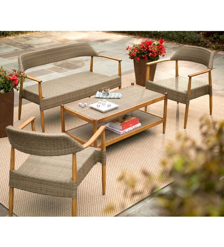 Chatham Wicker Furniture 4 Piece Set 10 best