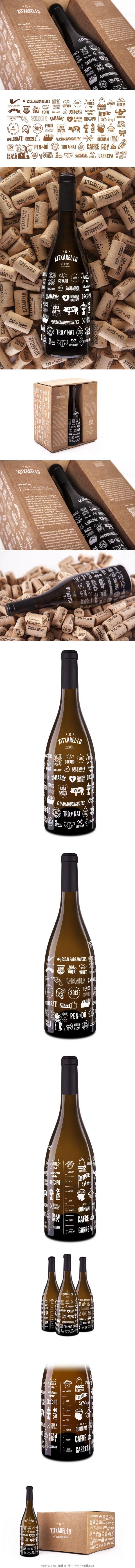 El Xitxarel·lo Wine Label #taninotanino #vinosmaximum