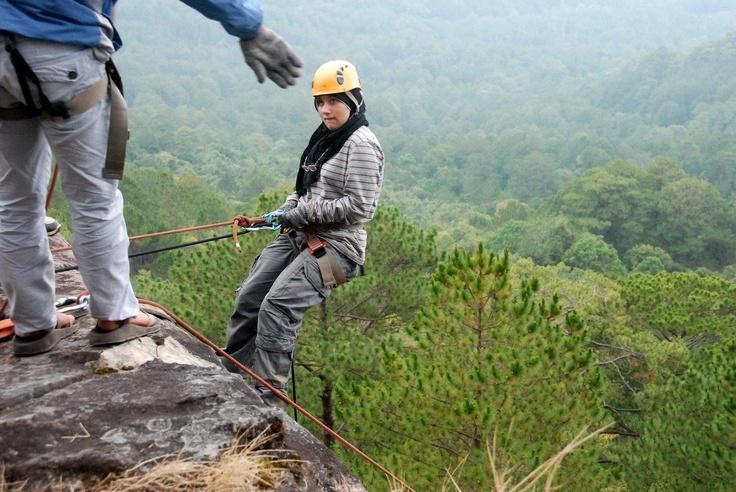 Abseiling - Dalat - Central Highlands of Vietnam