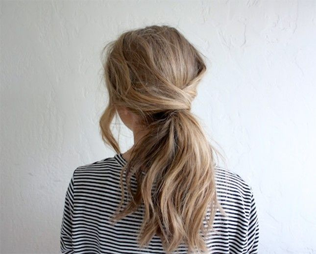 11 Easy Hairstyles for Snowy Days via Brit + Co