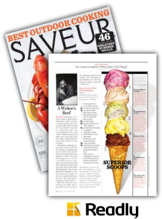 Suggestion about Saveur June / July 2014 page 18