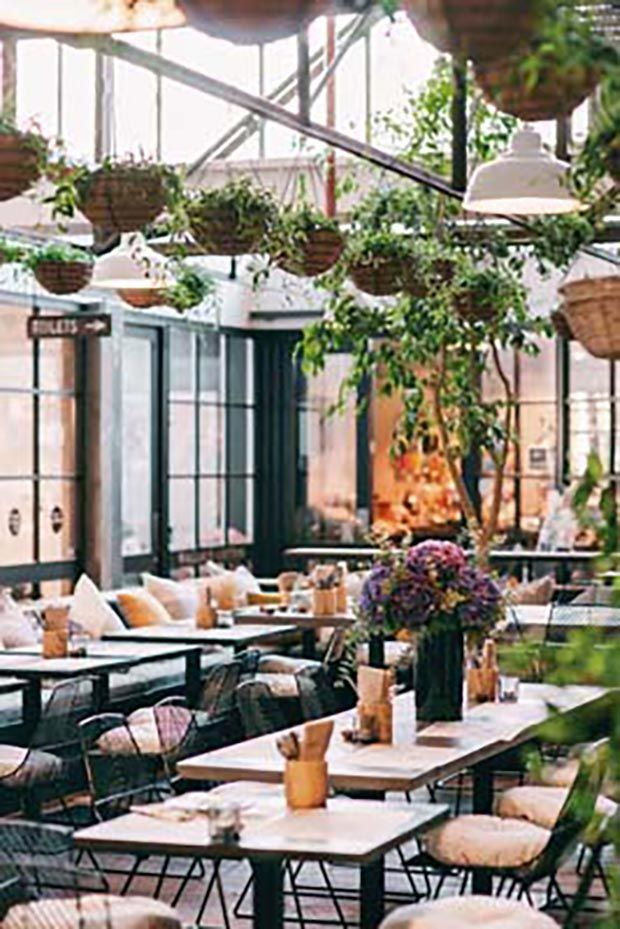 Restaurant style at  Bird on a Wire in Takapuna - entrepreneur Sophie Gilmour says adaptability is the key to success - thisNZlife