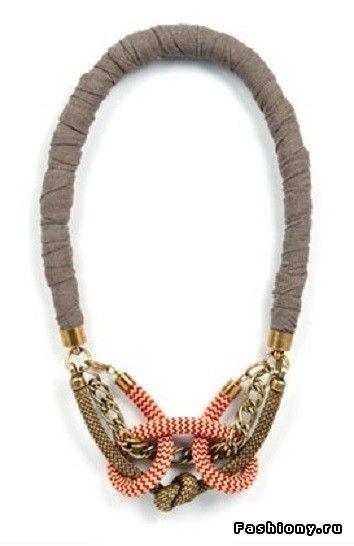 Веревочные аксессуары: как их носить и как их делать / браслет из веревок фото