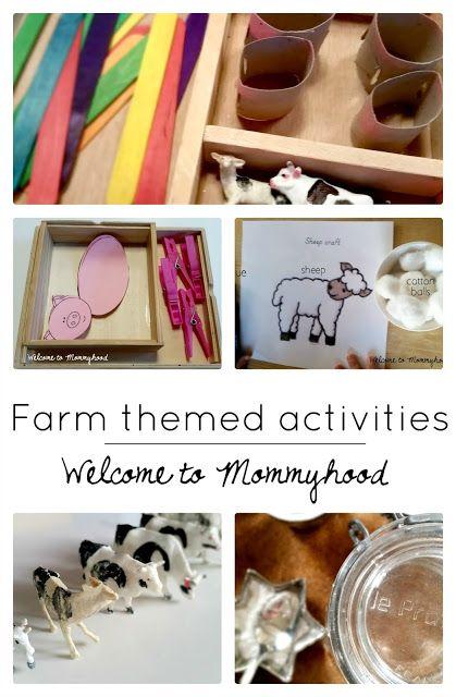 52 Best Images About Farm Theme On Pinterest Montessori Preschool Farm Theme And Farm Crafts