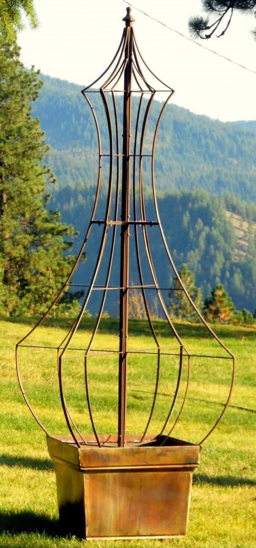 Genie Garden Trellis ... want this!