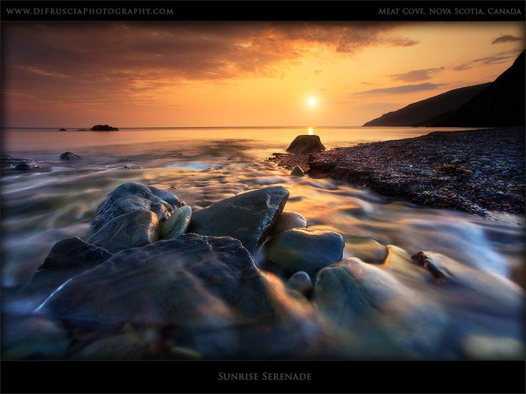 Sunrise Serenade - DI Fruscia Photography - Nova Scotia, Canada - Beauty of Fine art Nature and Landscape photography gallery, Limited edition prints and pictures