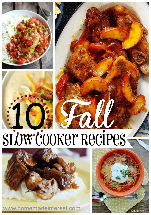 There is nothing like coming home to the smell of dinner that has been cooking in a slow cooker all day. These Fall crockpot recipes will keep you warm through the winter. Kids and adults will love these easy recipes and you will have so much more time for all of the fun stuff!