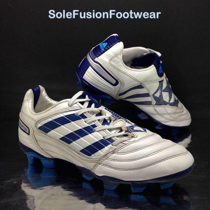 adidas Mens Predator Football Boots White/Blue Size 7 AG XTRX Absolado EU 40 2/3  | eBay