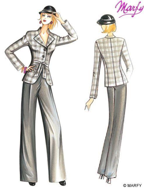 Mod. 2928-2985 -- Marfy Sewing Patterns