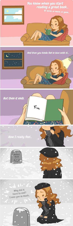 When a Good Book Ends