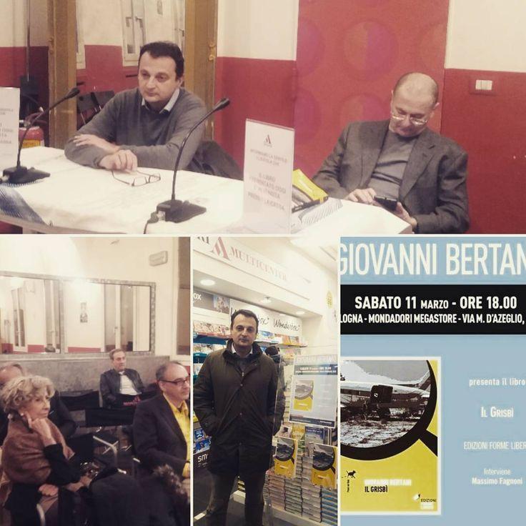 """""""Mi piace"""": 5, commenti: 1 - Isabella Grassi (@isa_alina) su Instagram: """"11 marzo 2017. Il Grisbì  presentato alla Mondadori di Bologna. #ilgrisbí  #bobbylago"""""""