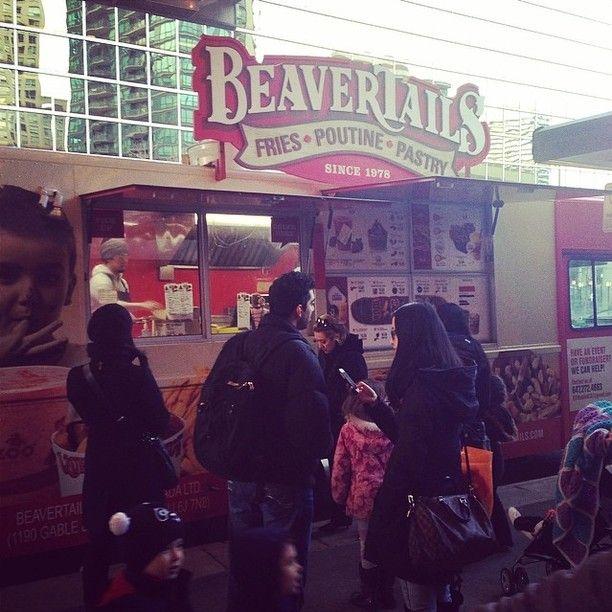Food trucks in Toronto #toronto #foodtruck #beavertails #food #delicious #LoveTO