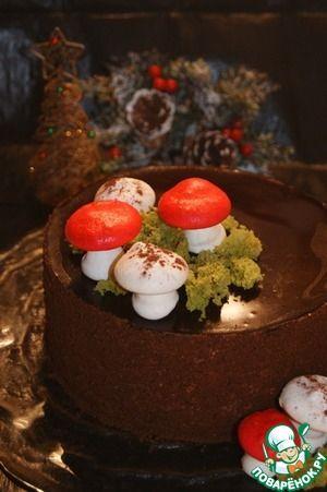"""Рецепт: Торт """"Рождественский"""""""