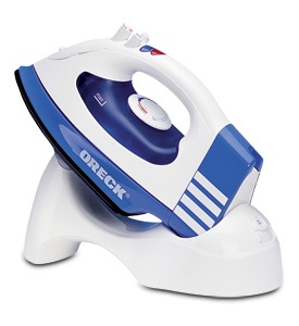 I love this iron! The cord is removable and it makes ironing so easy.