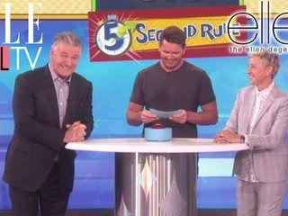 La règle des 5 secondes avec Alec Baldwin | The Ellen DeGeneres Show | Du Lundi à Vendredi à 20h10 | Talk Show