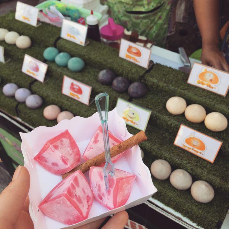 BBM KOREA | Amphawa, Thailand | Strawberry Mochi