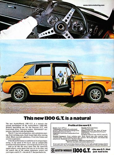 Austin Morris 1300GT Ad