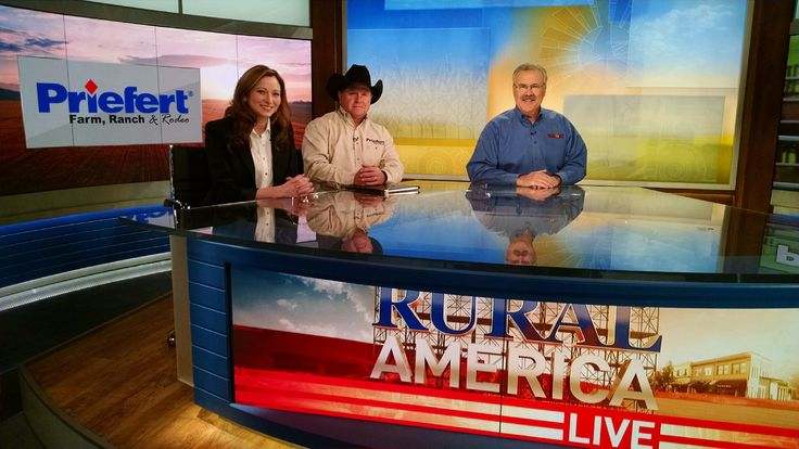 Thank you for having us RFD-TV on Rural America Live!