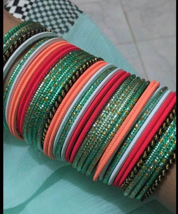 Indian bangles - love the colours 😍