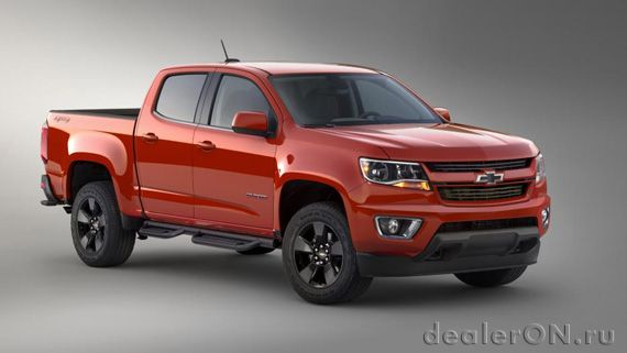 Пикап Chevrolet Colorado GearOn 2015 (Шевроле Колорадо 2015)