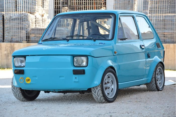 Catawiki online auction house: Fiat 126 Racing - Group 2 - 1979