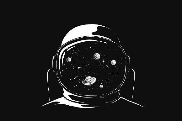 spaceman astronaut wallpaper space artwork spaceship
