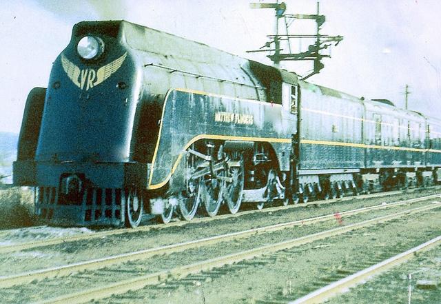 VICTORIAN RAILWAYS S CLASS PACIFIC