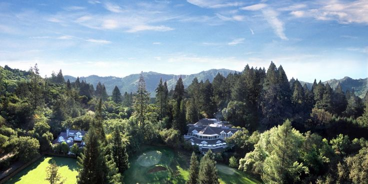 First opened as a country club in 1964, this St. Helena property is now a 250-acre resort. #JetsetterNorth America, Favorite Places, Wine Country, California, Napa Valley, Meadowood Napa, Napa Wedding, Destinations Wedding